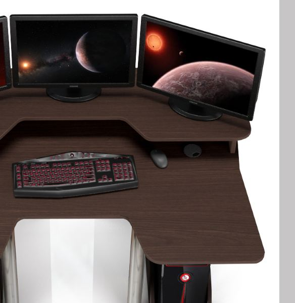 Геймерский игровой стол ZEUS IGROK-5