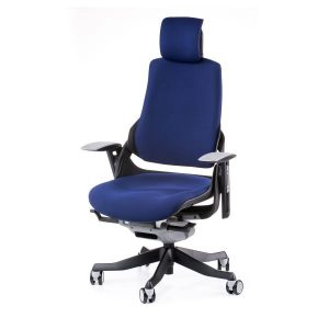 Кресло офисное Wau navybluе fabric E0765
