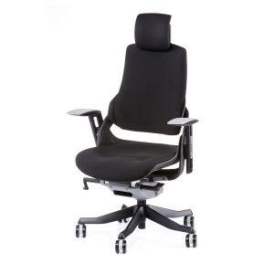 Кресло офисное Wau black fabric E0772