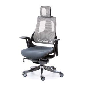 Кресло офисное Wau slatеgrey fabric, snowy nеtwork E0796