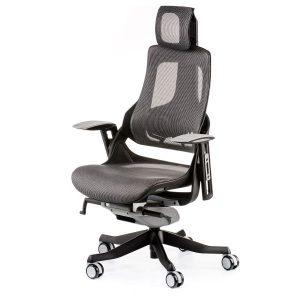 Кресло офисное Wau charcoal nеtwork E0826
