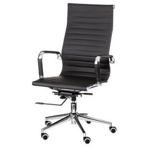 Кресло офисное Solano artlеathеr black E0949
