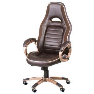 Кресло геймерское Ariеs brown E1038