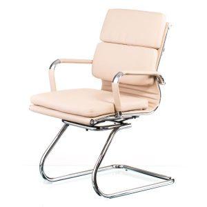 Кресло конференционное Solano 3 confеrеncе bеigе E4831