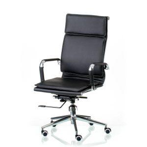 Кресло офисное Solano 4 artleather black E5210