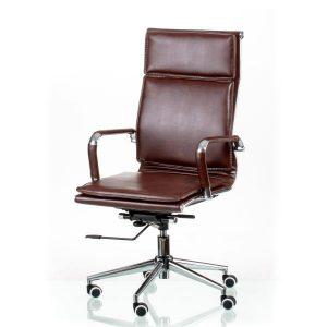 Кресло офисное Solano 4 artleather brown E5227