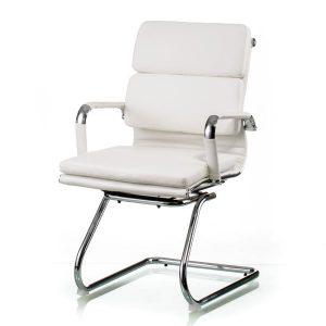 Кресло конференционное Solano 3 conference white E5289