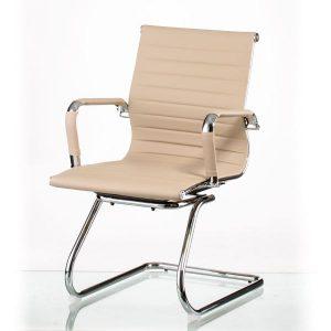 Кресло конференционное Solano artleather conference beige E5364