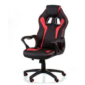 Кресло геймерское Game black/red E5388