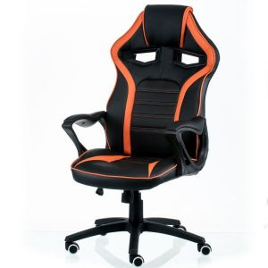 Кресло Game black/orange E5395