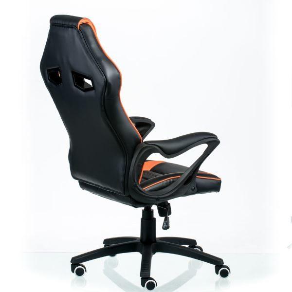 Кресло Game black/orange E5395