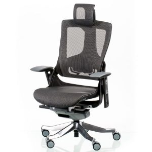 Кресло офисное Wau2 charcoal network E5449