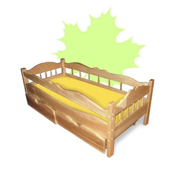 Кровать детская Рио, цвет натуральный