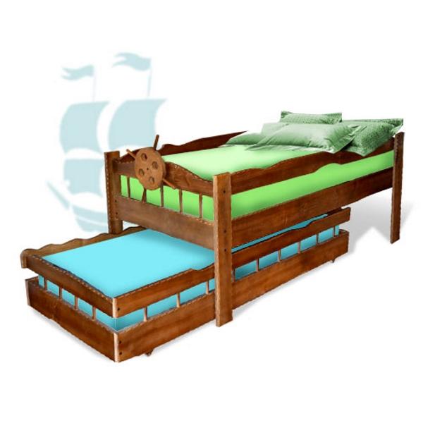 Двухъярусная кровать Афоня, цвет орех
