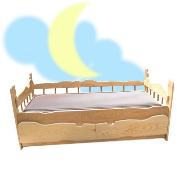 Детская кровать Астра, цвет натуральный