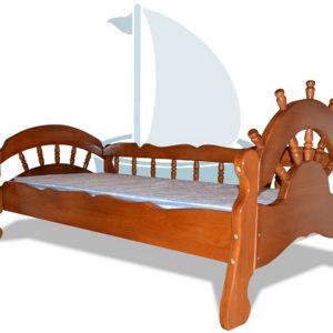 Детская кровать Бриз, в цвете орех