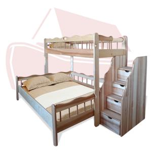 Двухъярусная кровать Ковчег, цвет натуральный