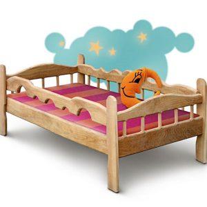 Кровать Зюзюн, цвет натуральный