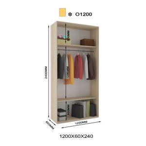 Приставной шкаф-купе Оскар О1200