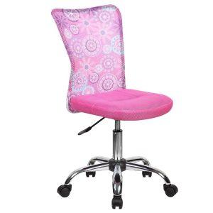Детское компьютерное кресло BLOSSOM pink