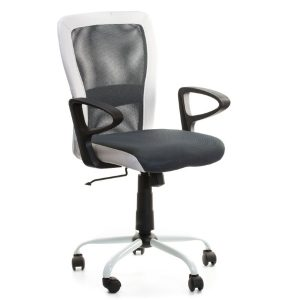 Компьютерное кресло LENO, Black-white