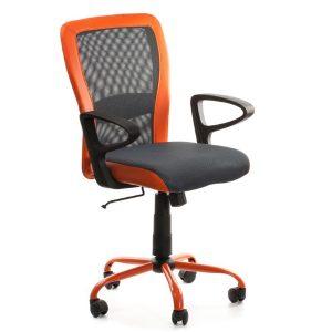 Компьютерное кресло LENO, Grey-Orange