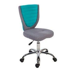 Компьютерное кресло POPPY, серо-голубое