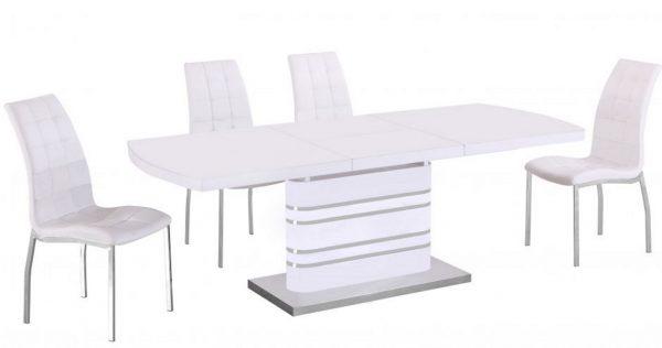 Стол обеденный раскладной Колорадо DT-82-3 White