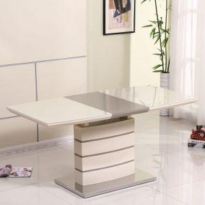 Стол обеденный раскладной Хьюстон DT-9123-1 White