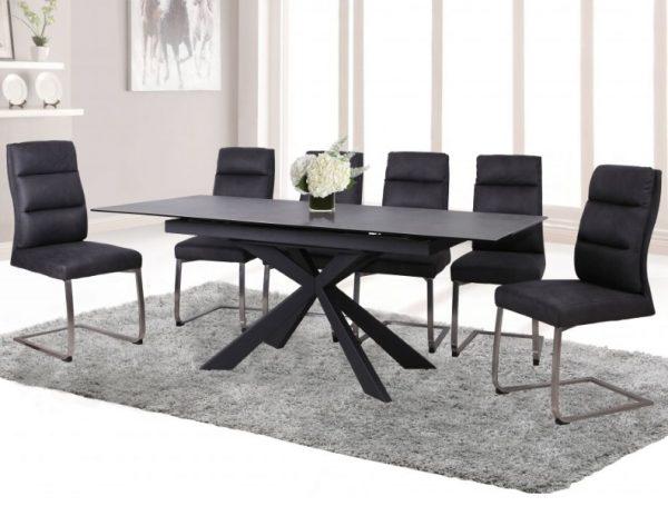 Стол обеденный раскладной Palma HT6570C-GN