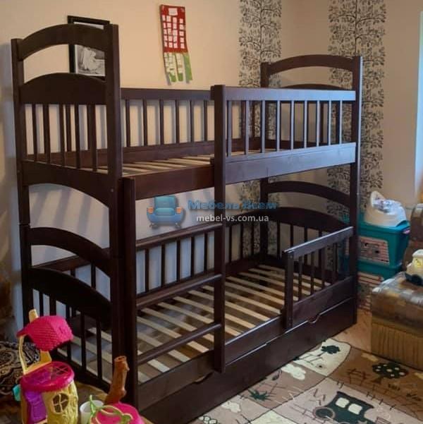 Двухъярусная кровать Карина Люкс с бесклеевыми матрасами