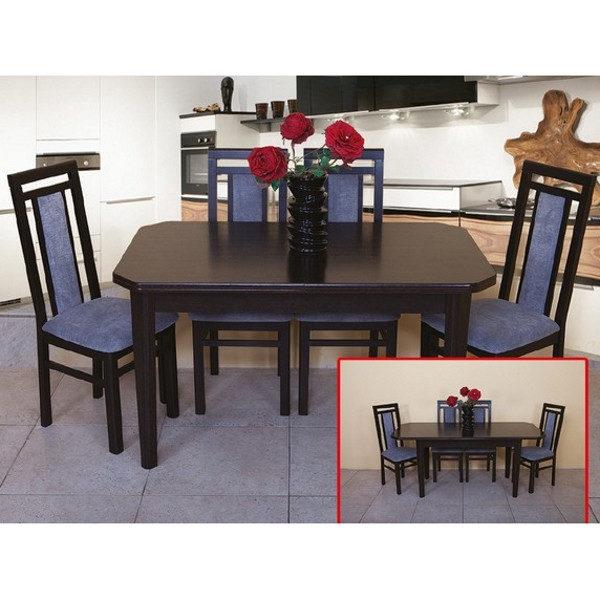 Стол обеденный Модерн (цвет: орех тёмный)