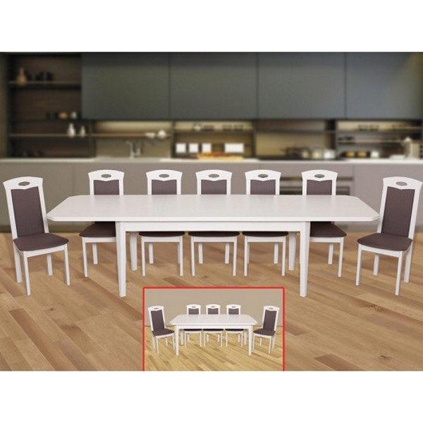 Стол обеденный Модерн 3 (цвет белый)