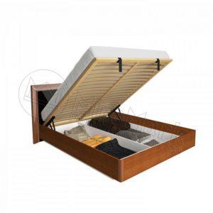 Двухспальная кровать Белла 160x200 BL-46-BL подъемная (с каркасом)