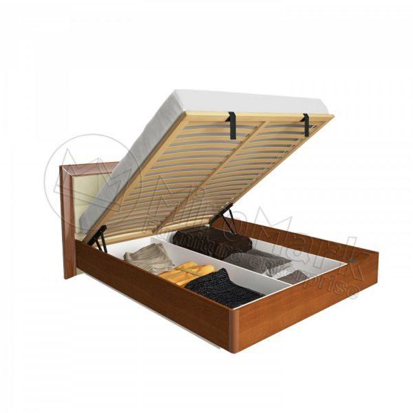 Двухспальная кровать Белла 180x200 BL-49-VN мягкая спинка, подъемная (с каркасом)