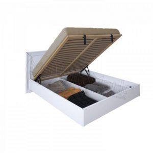 Двухспальная кровать Белла 160x200 BL-46-WB подъемная (с каркасом)