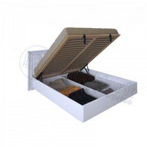Двухспальная кровать Белла 160x200 BL-47-WB мягкая спинка, подъемная (с каркасом)