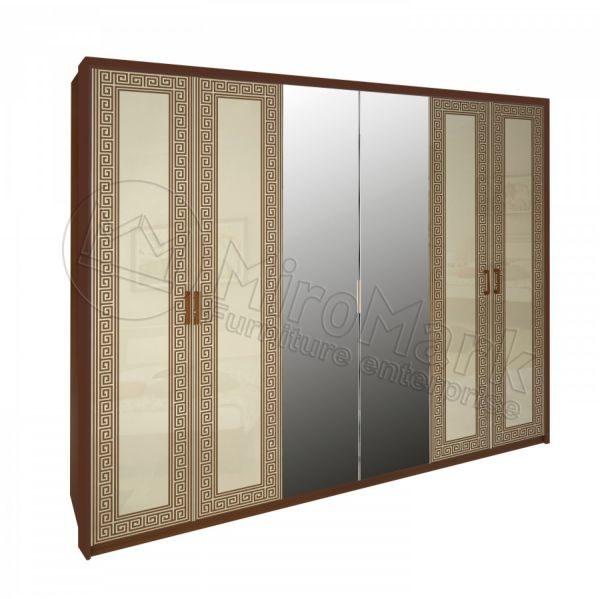 Шкаф 6 дверей Виола VL-16-VN