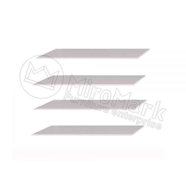 Полки в шкаф 3, 4, 6 дв. Белла BL-75 (4 шт.)