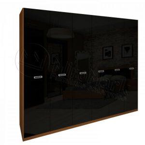 Шкаф 6 дверей Белла BL-26-BL (Без зеркал)