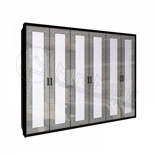 Шкаф 6 дверей Виола без зеркал VL-26-WB