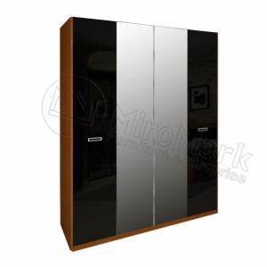 Шкаф 4 двери Белла BL-14-BL