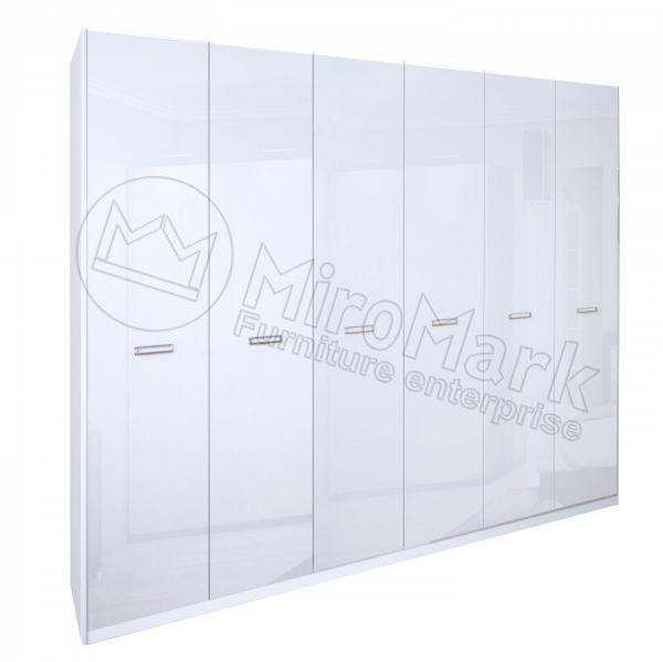 Шкаф 6 дверей Белла BL-26-WB (Без зеркал)