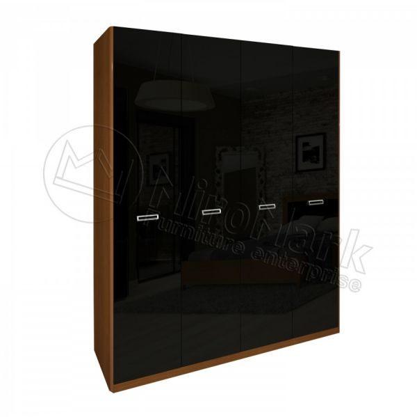 Шкаф 4 двери Белла BL-24-BL (Без зеркал)