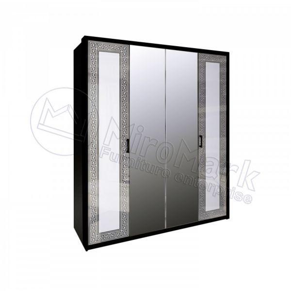 Шкаф 4 двери Виола VL-14-WB