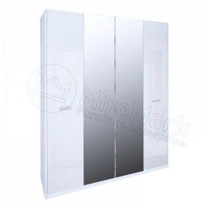 Шкаф 4 двери Белла BL-14-WB