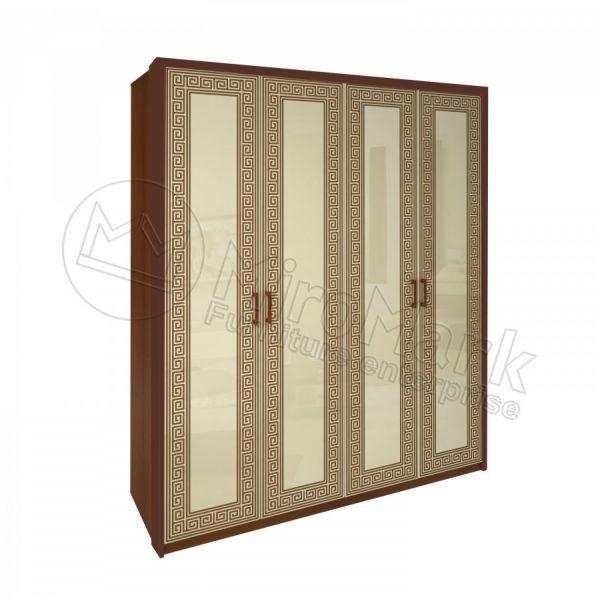 Шкаф 4 двери Виола без зеркал VL-24-VN