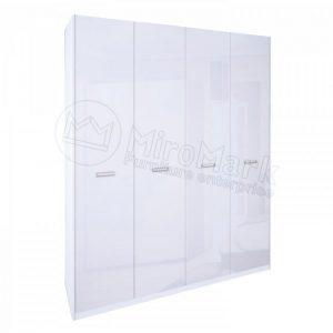 Шкаф 4 двери Белла BL-24-WB (Без зеркал)