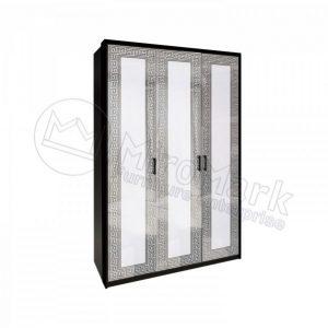 Шкаф 3 двери Виола без зеркал VL-23-WB