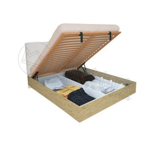 Кровать Верона 180x200, мягкая спинка, с каркасом VR-48-WB